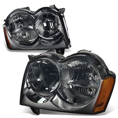 05-07 Jeep Grand Cherokee  Headlight Assembly (Driver & Passenger Side)