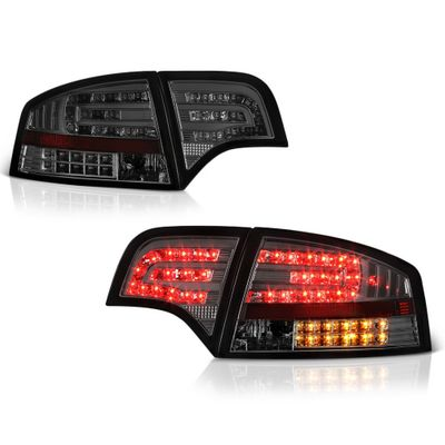 05-08 Audi A4 / S4 / RS4 4DR Sedan Euro Style LED Tail Lights - Smoked ALT-YD-AA406-G2-LED-SM By Spyder