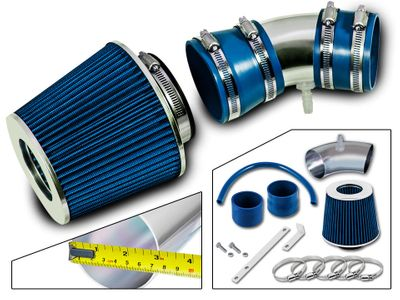 05-08 Chevy Equinox LS/LT/Sport 3.4L V6 (Not fit Hybrid Engine or Flex Fuel) Short Ram Air Intake Kit - Blue