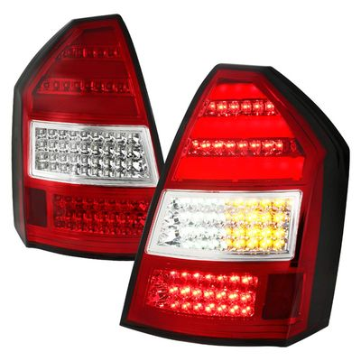 05-08 Chrysler 300C Replacement LED Tail Lights - Red