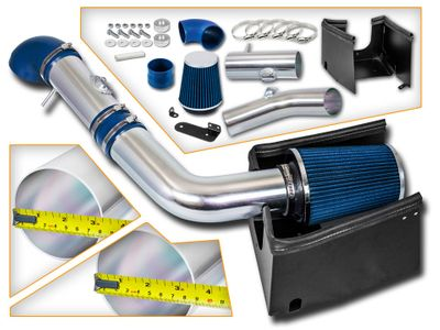 05-08 Ford F150 5.4L V8 Performance Heat Shield Cold Air Intake - Blue Filter