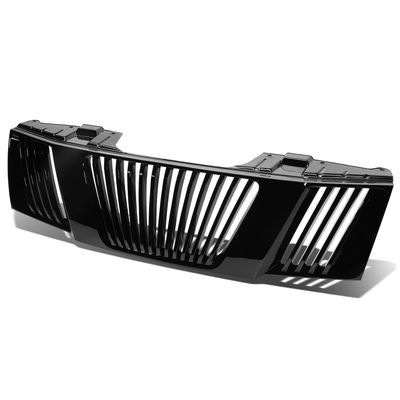 05-08 Nissan Frontier / 05-07 Pathfinder Vertical ABS Front Hood Grill - Black