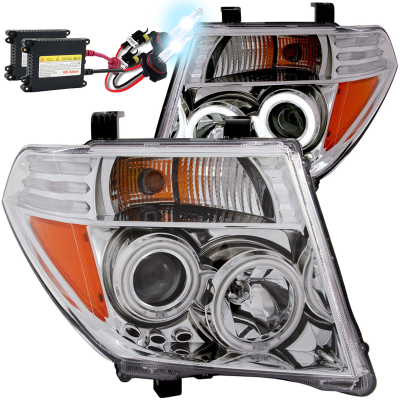 HID Xenon + 05-08 Nissan Frontier CCFL Angel Eye Halo