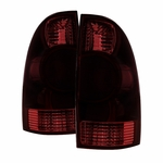 05-08 Toyota Tacoma OEM Style Tail Lights - Red Smoked