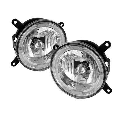 05-09 Ford Mustang Angel Eye Halo Fog Lights Kit - Clear