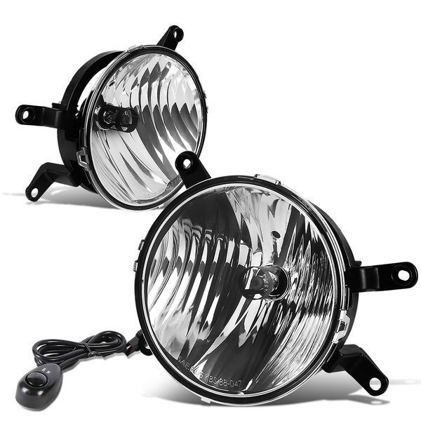 05-09 Ford Mustang Pony/Gt Clear Lens OE Bumper Fog Lights