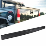 05-09 Hummer H2 SUT Black ABS Tailgate Top Cap Protector Spoiler Cover Moulding
