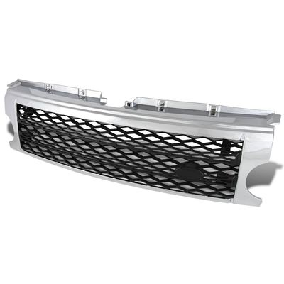 05-09 Land Rover Discovery 3 (Fits LR3 Models ONLY) Front Sport Mesh Grille - Black