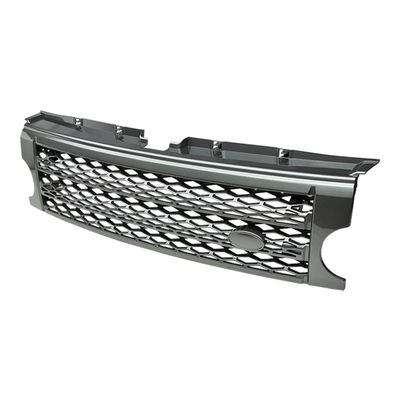 05-09 Land Rover Discovery 3 (Fits LR3 Models ONLY) Front Sport Mesh Grille - Chrome
