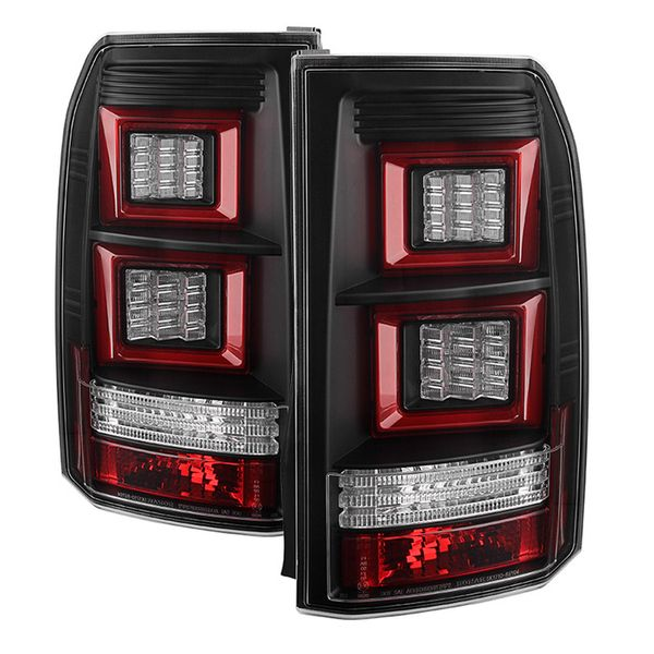 05-09 Land Rover Discovery 3 LR3 Performance LED Tail Lights - Black