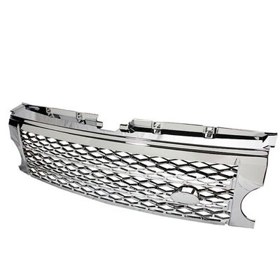 2005-2009 Land Rover LR3 Diamond Mesh ABS Front Upper Grill - Chrome