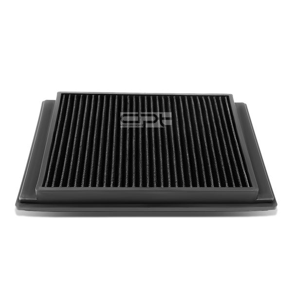 05-09 Land Rover LR3 / Ranger Rover Sport Reusable & Washable Replacement High Flow Drop-in Air Filter (Black)