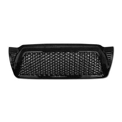 05-09 Toyota Tacoma Honeycomb Mesh Front Grille Grill - Black