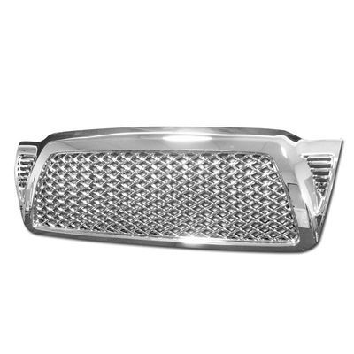 05-09 Toyota Tacoma Honeycomb Mesh Front Grille Grill - Chrome