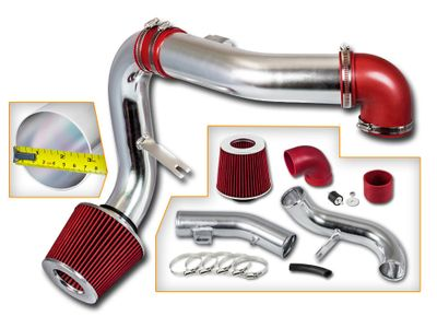 05-10 Chevy Cobalt 2.2L L4 / 05-08 Cobalt SS 2.4L L4 Cold Air Intake - Red