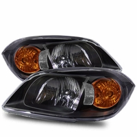 05-10 Chevy Cobalt Euro Style Crystal Headlights - Black