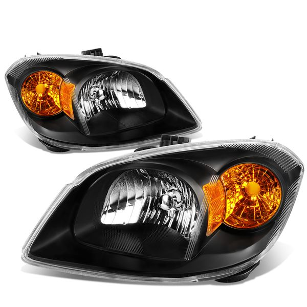 05-10 Chevy Cobalt / Pontiac G5 Factory Style Replacement Headlights Black
