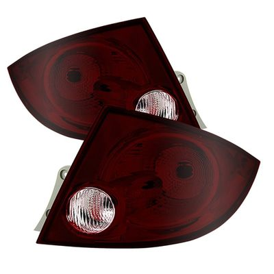 05-10 Chevy Cobalt Sedan OEM Style Tail Lights - Pair - Red Smoked