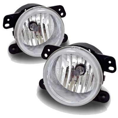 05-10 Chrysler 300 / 05-08 Dodge Magnum OE-Style Bumper Fog Lights - Clear