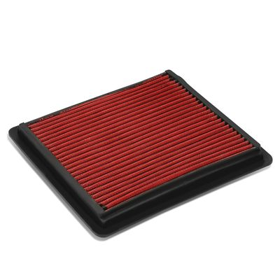 05-10 Ford Mustang / GT Reusable & Washable Replacement High Flow Drop-in Air Filter (Red)