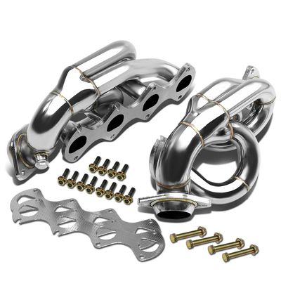 05-10 Ford Mustang 4-1 Design 2-PC Stainless Steel Exhaust Header Kit - 4.6L V8