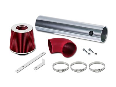 05-10 Jeep Grand Cherokee 5.7L V8 / 06-10 Commander 5.7L V8 / 06-10 Jeep Grand Cherokee 6.1L SRT8 V8 Short Ram Air Intake Kit - Red