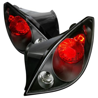 05-10 Pontiac G6 Coupe Euro Style Altezza Tail Lights - Black