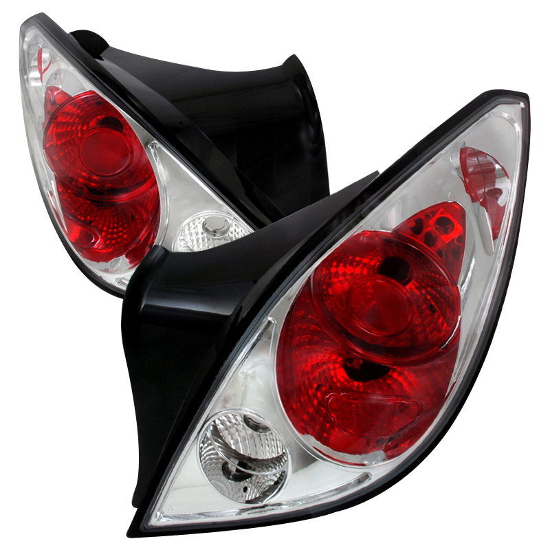 Pontiac G6 Coupe Euro Style Altezza Tail Lights Chrome Click To Enlarge