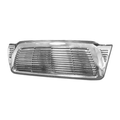 05-11 Toyota Tacoma Pickup Horizontal Style Front Grill Grille - Chrome