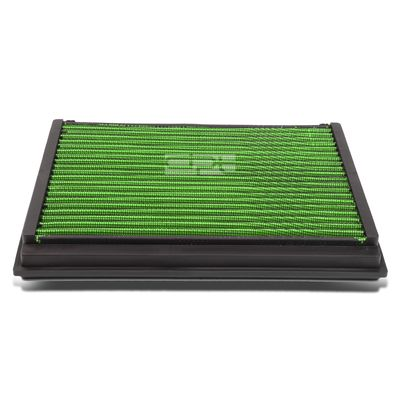 05-11 Volvo V50 / S60 / S40 / C70 / C30 2.5L Reusable & Washable Replacement High Flow Drop-in Air Filter (Green)