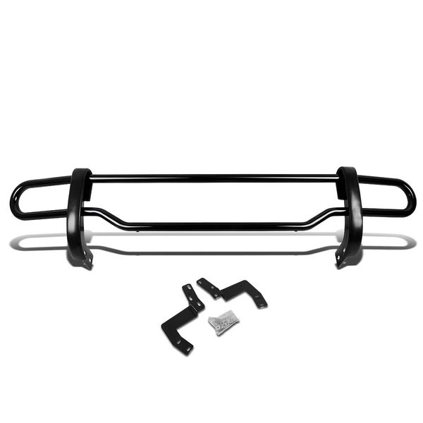 05-12 Nissan Pathfinder R51 Stainless Steel Double Bar Rear Bumper Protector Guard (Black)