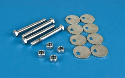 05-12 Nissan Xterra Front Caster Alignment Camber Plate Bolt Kit
