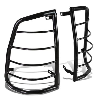 05-12 Toyota Tacoma Black Coated Steel Tail Light/Lamp Guard+Mounting Kit