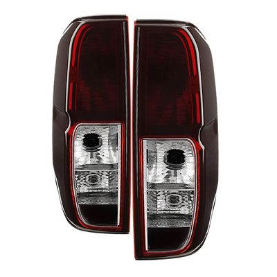 05-14 Nissan Frontier OEM Style Replacement Tail Lights Pair - Smoked
