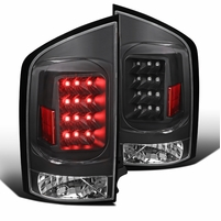 05-15 Nissan Armada LED Replacement Tail Lights - Stealth Black