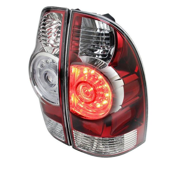05-15 Toyota Tacoma Facelift-Style LED Tail Lights - Red