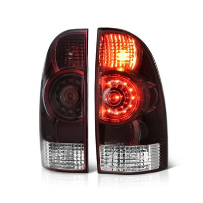 05-15 Toyota Tacoma OEM LED Style Tail Lights - Red Smoked