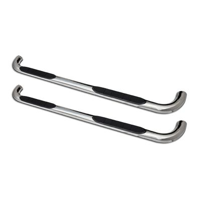 "05-16 Nissan Frontier [Crew Cab] 3"" Round Side Step Nerf Bars Running Board - Polished"