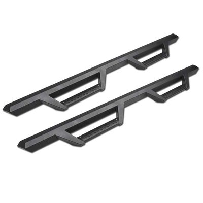 05-17 Tacoma Double/Crew Matte Black Drop Step Side Nerf Bars Rail Running Boards