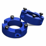 "05-18 Toyota Tacoma / 07-14 FJ Cruiser Blue 2.5"" Front Spacers Suspension Leveling Lift Kit"