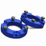 "05-18 Toyota Tacoma / 07-14 FJ Cruiser Blue 2"" Front Spacers Suspension Leveling Lift Kit"