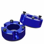 "05-18 Toyota Tacoma / 07-14 FJ Cruiser Blue 3"" Front Spacers Suspension Leveling Lift Kit"