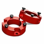 "05-18 Toyota Tacoma / 07-14 FJ Cruiser Red 2.5"" Front Spacers Suspension Leveling Lift Kit"