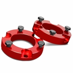 "05-18 Toyota Tacoma / 07-14 FJ Cruiser Red 2"" Front Spacers Suspension Leveling Lift Kit"