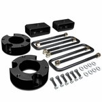 """05-18 Toyota Tacoma 2WD 4WD Black 3"""" Front + 2"""" Rear Spacers + Blocks Leveling Lift Kit"""