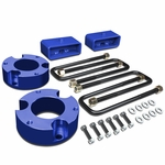 """05-18 Toyota Tacoma 2WD 4WD Blue 3"""" Front + 2"""" Rear Spacers + Blocks Leveling Lift Kit"""