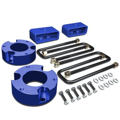 "05-18 Toyota Tacoma 2WD 4WD Blue 3"" Front + 2"" Rear Spacers + Blocks Leveling Lift Kit"