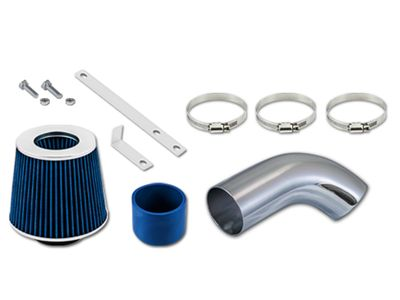 06-08 Audi A3 2.0L L4 Turbo Short Ram Air Intake Kit - Blue