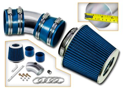 06-08 Chevy Impala 3.5 3.9 V6 Short RAM Air Intake - Blue Filter