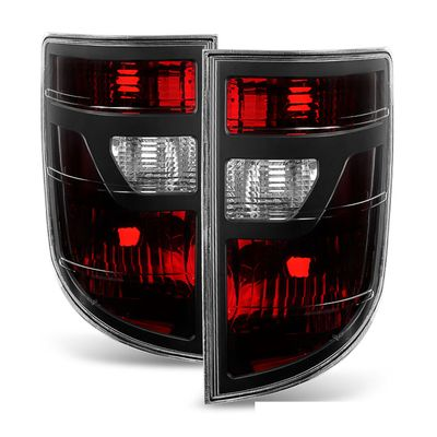 06-08 Honda Ridgeline OEM Style Replacement Tail Lights Pair Smoked